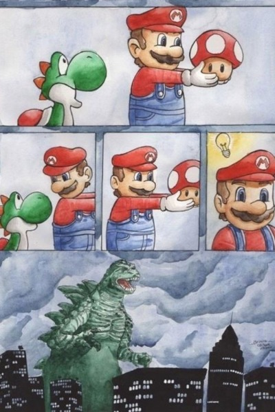 ragecomics4u:  I think Mario had a great idea….http://ragecomics4u.tumblr.com