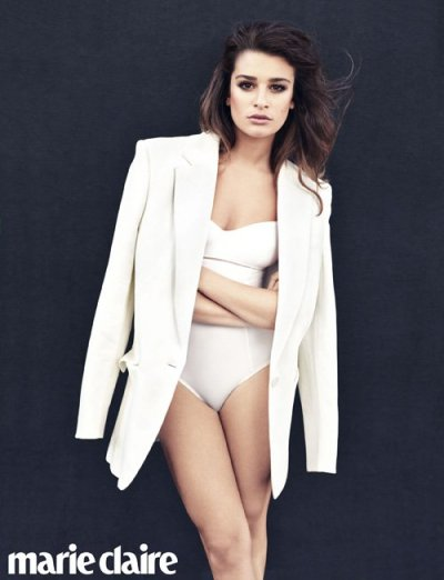 Lea Michele for Marie Claire [Jan 2013]