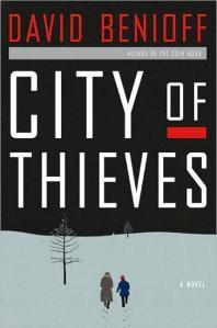 #48: City of Thieves by David Benioff This morning I was trying to come up with some of the best books I read this year and kept thinking of this one. When I tried to look back to see what I originally said about it I realized I had somehow forgotten it in my monthly lists this autumn. I'm not sure what I did with my brain this year, but my head was clearly not in the documentation game. Anyways, I really did love this book and it's a testament to the writing that I woke up with it on my mind. It's about friendship in unlikely places, the need to have a kindred spirit when trying to survive. Maybe I thought of it in the spirit of simply finding hope during a time of trial. Whatever it was that made it come back to me, I'm glad I thought back over City of Thieves because I guess it's one of those stories that sort of weaves itself into your life rather than being a showy display of power. I'm so glad I didn't forget it.