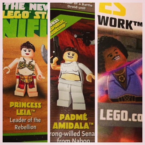 Upcoming #lego Star Wars minifigs. Not sure if Lando will be a minifig
