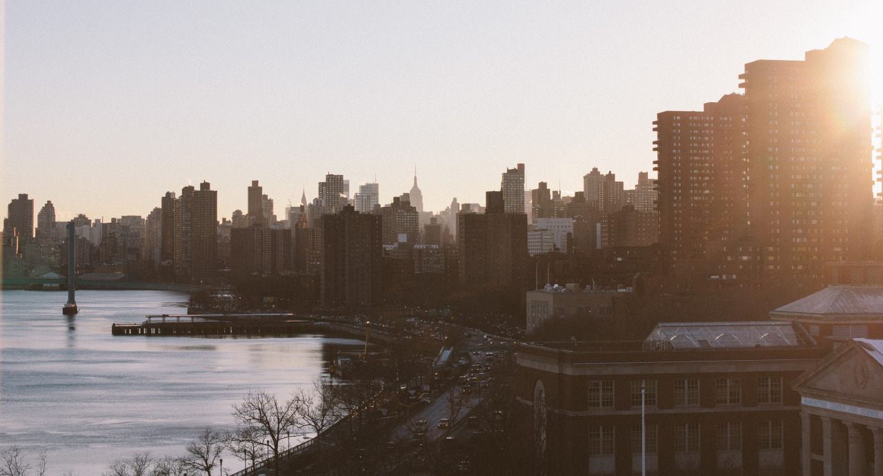The view from East Harlem looking down the river gets me every-time.