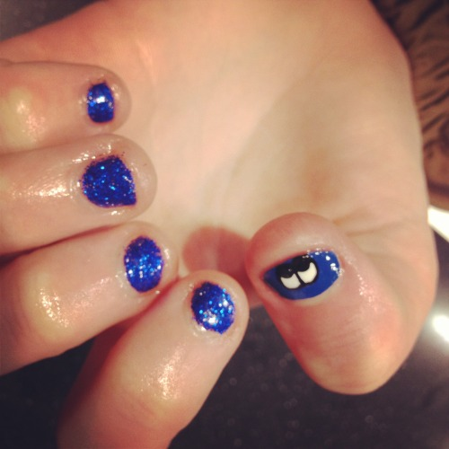 No matter your nail size there is always something we can do! #nails #nailart