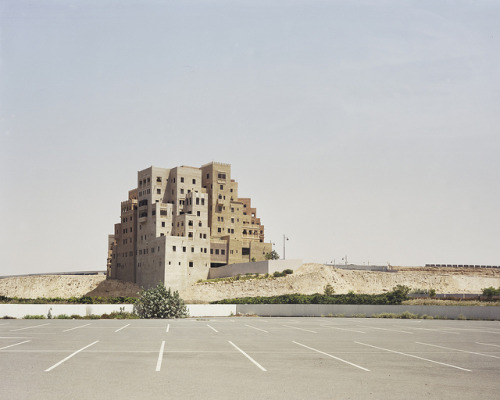 cjwho:  Bas Princen, Shopping mall parking lot, Dubai, 2009 by deSingel