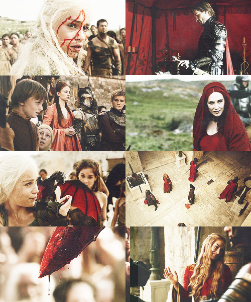 game of thrones + red asked by khalsdrogo