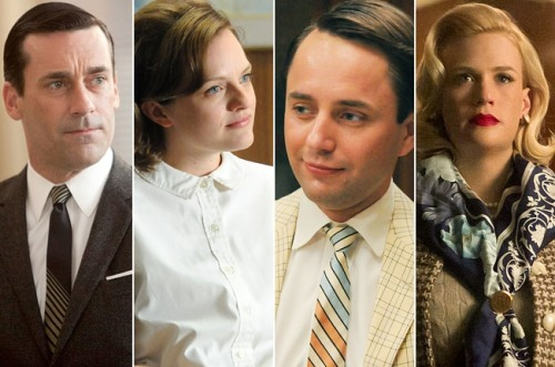 "Our ""Mad Men"" character playlist is here! From Britney Spears to Gucci Mane, check out the songs that capture the 10 major characters on the AMC drama before its long-awaited sixth season premieres Sunday night."