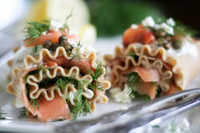 Smoked Salmon Lasagna Rolls-7 by Sonia! The Healthy Foodie on Flickr.