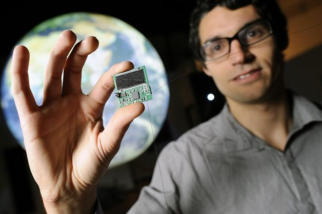 "Personal satellites that fly into space ""Unwrapping devices like smartphones and tablets is sure to bring people joy on Christmas Day. Some future-oriented folks may even get a 3-D printer or a toy drone. But what about a personal satellite?"""