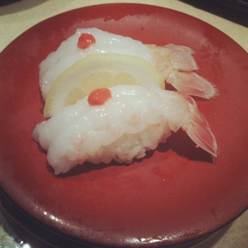 Scampi. Stuff taste like jelly prawns. #sushi #japanese #scampi #prawn #foodporn #sydney  (at Makoto)
