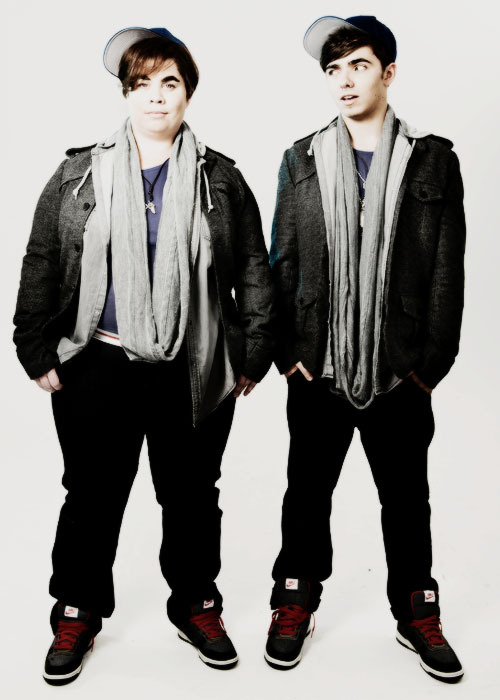 Nathan and James Sykes photoshoot 2011