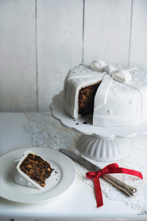 prettylittlepieces:  Traditional Christmas Cake