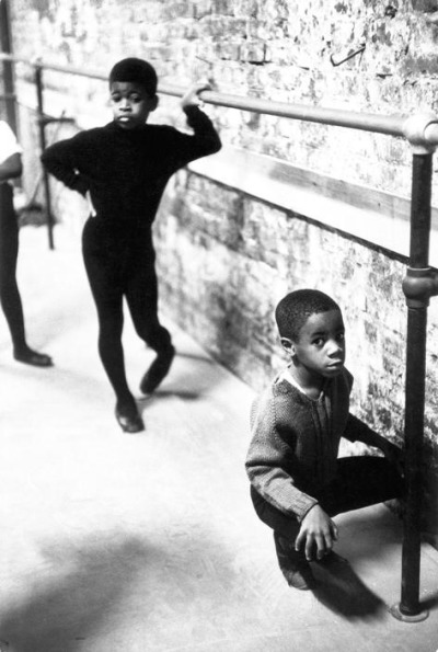 pink-slip:  N.Y.C., Harlem Neighbourhood ballet class, 1968 Photo by Eve Arnold as part of the Black is Beautiful series