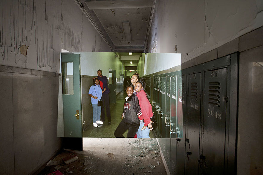 Then and Now Photos of Abandoned Detroit School