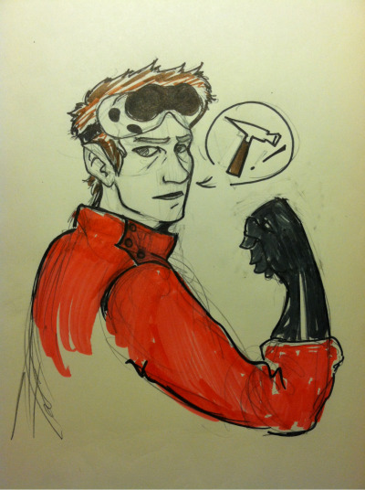 DR. Horrible requested by killjoyceline. I fucked up hard on those goggles.