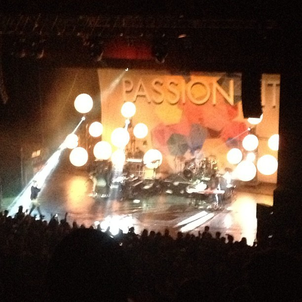 This concert was awesome #PassionPit #lategram #cleveland