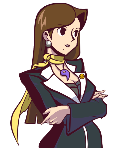 grapplerbot:  Source: http://rockerfox999.deviantart.com/  Mia Fey: Ace Badass.