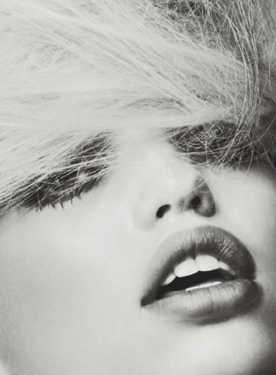 """Someone is Watching"", Daphne Groeneveld photographed by Txema Yeste in Harper's Bazaar Spain April 2013"