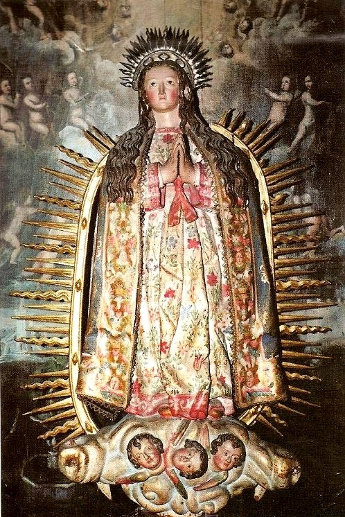 allaboutmary:  Virgen Inmaculada A baroque statue of Mary as the Immaculate Conception in the monastery of Santa María la Real de las Huelgas in Valladolid, Spain.