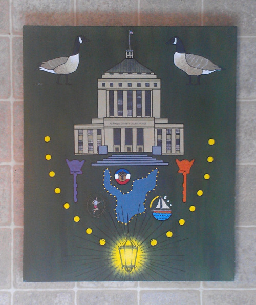 milkboyfresh:  Lake Merritt Tribute: Necklace of Lights (no good camera in sight)  the boybean got bar$