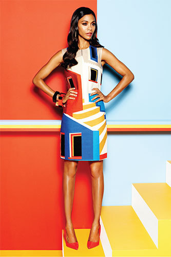 Zoe Saldana in Latina magazine.