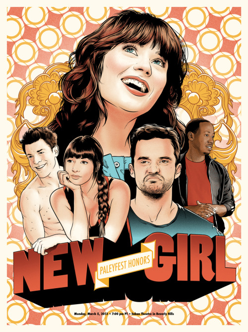 New Girl | Paleyfest Posters