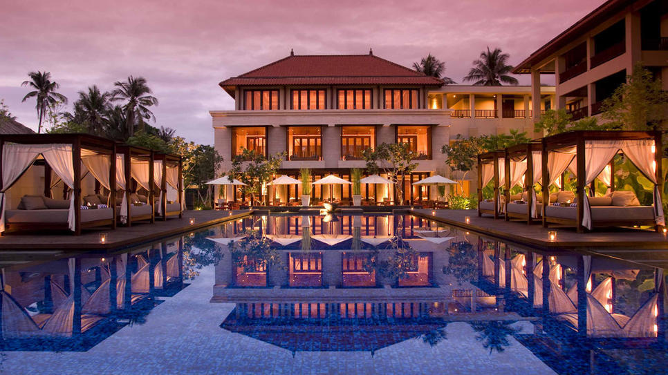 Conrad Bali in Indonesia  (via Conrad Bali : Daily Escape : Travel Channel)