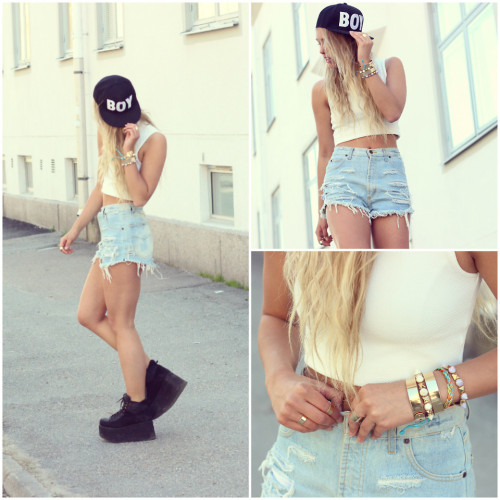lookbookdotnu:  Summer buzz (by Joanna Johansson)