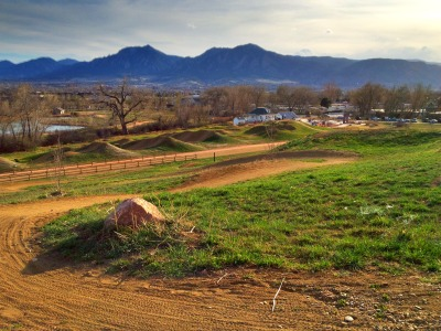 Mountain Bike Park in Boulder, Colorado