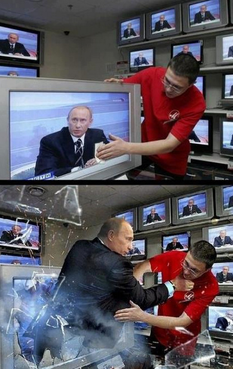 I SAID DON'T TOUCH PUTIN