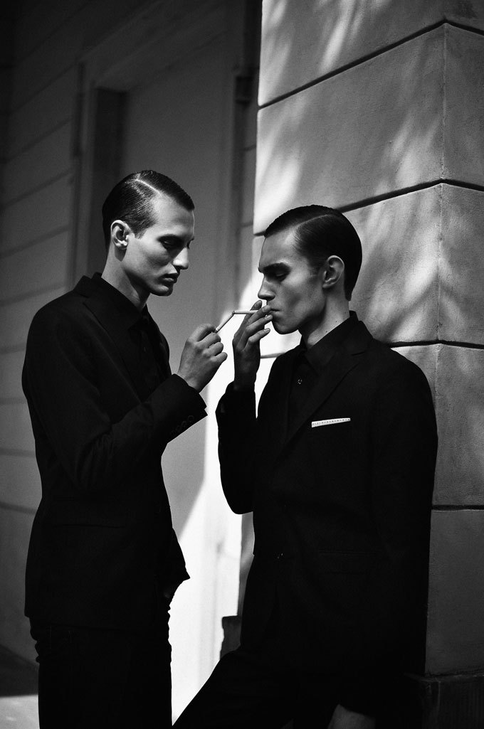 66lanvin:  omyt:  ph. Tomasz Haczyk  Please PARDON me (You REMIND me OF)………..No.1