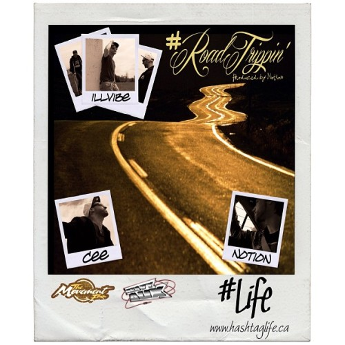 #roadtrippin - The first track from the collaborative EP #Life, with Toronto native @illvibe, T-Dot via Melbourne kid @notionbaby and Montreal via Melbourne cat, Cee (me, bitch). This project will focus on just that - life, via the lenses of these three creative individuals with a focus on art, audio, video and social media. The audio drops next Friday May 24th at www.hashtaglife.ca, with the video to follow on Friday May 31st. @themovementfam x Heavy Aux.