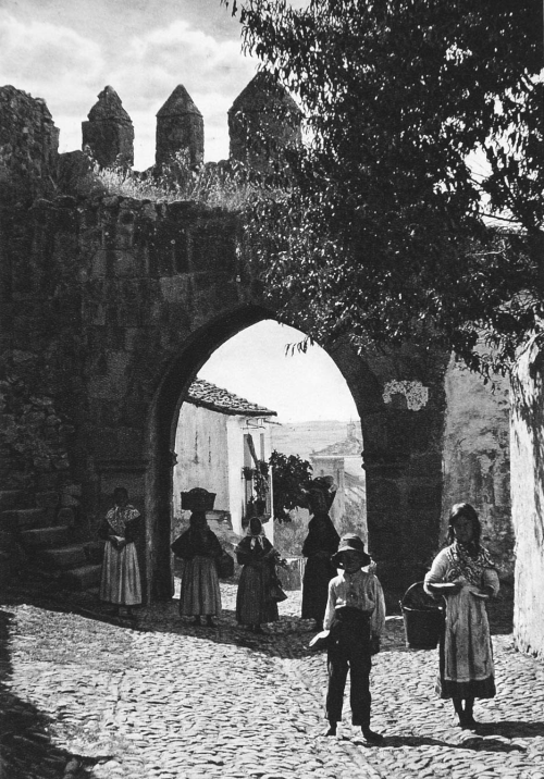 Old Town Gate, Trujillo, Spain, 1925 photo by Kurt Hielscher