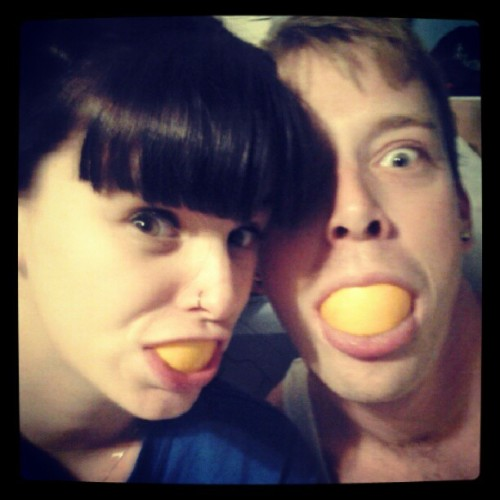 Its love lol #love #lol #fiance #oranges