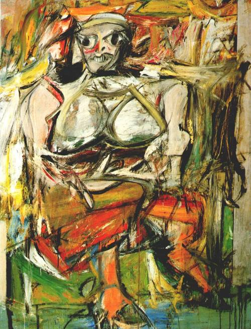 Willem de Kooning - Woman I (1952)