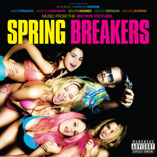 Any memorable moments from this Spring Breakers project? I can't think of one moment but it was a terrific experience. I think it was one of the easiest films I've done. The stars aligned. I think it was a risky project. Harmony Korine seems to be a bit of an improvisational director. I remember there wasn't a strong resemblance between the script and the film. There were a lot of risks taken, but everything seemed to line up. I don't know if the movie will be unanimously loved, because it was meant to piss of some and endear others, but I loved it.  —Myspace interviews Cliff Martinez about composing the score for Spring Breakers