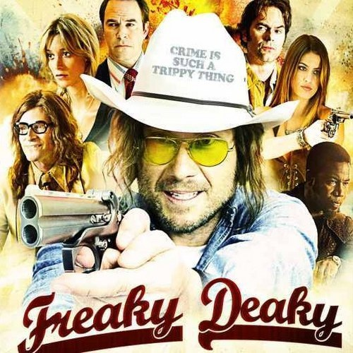 movieweb:  Freaky Deaky DVD Arrives February 26thEntertainment One has announced the DVD release of Freaky Deaky on February 26. This adaptation of the Elmore Leonard novel will be priced at $19.98 SRP. Take a look at the cover art and special features below.Freaky Deaky DVDChris Mankowski (Billy Burke) used to be on the Detroit Police bomb squad, but it's not until he's transferred to sex crimes that he gets a real taste of juggling dynamite. After falling for the lovely Greta Wyatt (Sabina Gadecki), he gets suspended for investigating the rich, powerful and drunk Woody Ricks (Crispin Glover). Taking matters into his own hands, Mankowski quickly realizes it won't be easy to get justice for Greta. From former Black Panther Donnell Lewis (Michael Jai White) to sexy ex-fugitive Robin Abbott (Breanne Racano) and her erstwhile bombing partner Skip Gibbs (Christian Slater), everyone wants something from Ricks. With all these unscrupulous deviants in the mix, one thing's for certain… it's gonna get freaky!Populated by some of Elmore Leonard's most memorable characters and filled with the author's trademark menace, fantastic dialogue and deadpan humor, Freaky Deaky, directed by Charles Matthau (The Grass Harp), had its world premiere at the 2012 Tribeca Film Festival.Special Features:Making-of Featurette[MovieWeb]