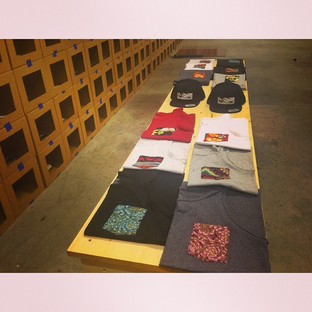 Pocket Tee Collection Drops this weekend at the warehouse. Better come out and pick some up while you can! #allaspects #tripleayegang #pockettees #streetwear