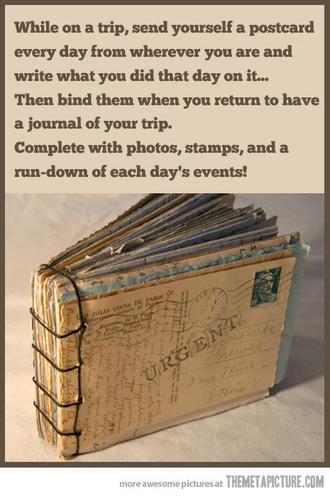 Great DIY Travel Souvenir Idea.   http://weheartit.com/entry/49182836