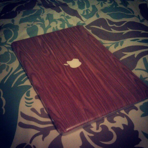Just made a new cover for my macbook!