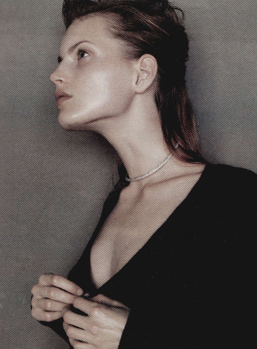 "supermodelobsession:  W November 1995""Flawless""Model: Guinevere van SeenusPhotographer: Michael Thompson"