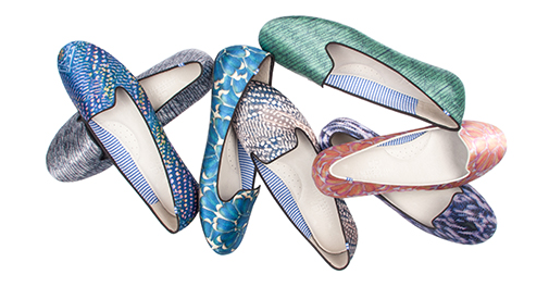 Wish List Wednesday: Charles Philip Shanghai Spring/Summer 2013 Slipper Collection These slippers are about one thing and one thing only: cool elegance.  As you make your way back from SXSW and realize that you miss warm weather more than you thought, stock up on these bad boys and reassure yourself the thaw will be heading our way soon. Made from the finest fabrics and coolest prints, we're confident that the entire Spring/Summer 2013 Slipper collection will take you from your workday to the weekend with ease.  (They even come in metallics and snakeskin prints!) So, join Charles Philip and the rest of his small army of shoe aficionados in celebrating the freshness and beauty from around the world in this globally-inspired slipper collection for Spring!