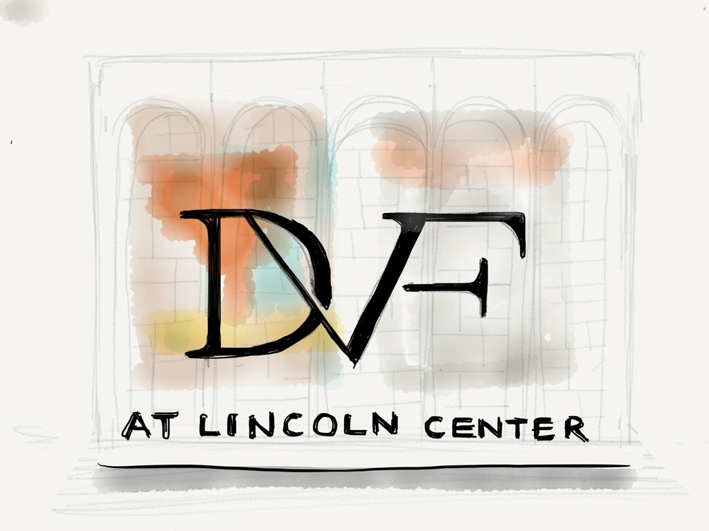 Diane von Furstenberg Fall 2013 Collection. Lincoln Center, NYC.