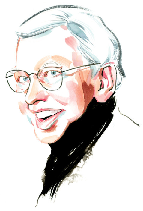 Roger Ebert 1942 - 2013 Drawing by Kagan McLeod