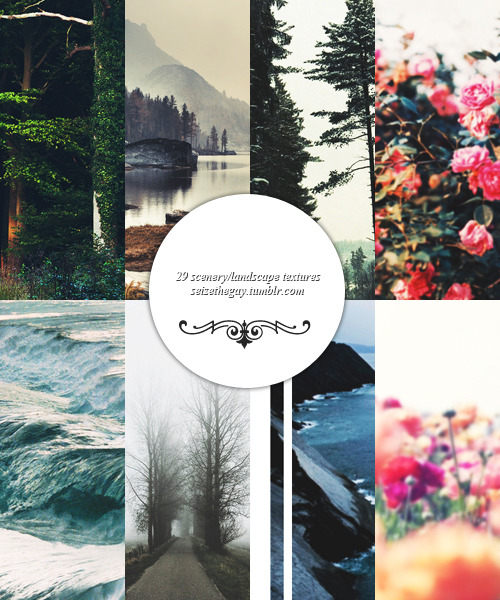 seizethegay:  pack 001 by @seizethegay  includes 29 scenery/landscape textures if you have any problems or questions please message me please like/reblog if downloading/using (✿◠‿◠)  download