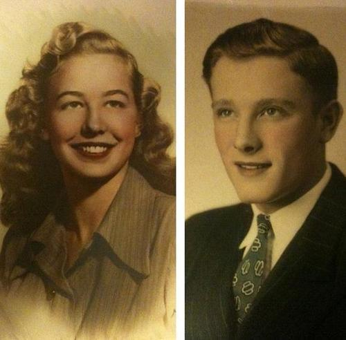 They will be my new tattoo… #grandparents #vintage #love