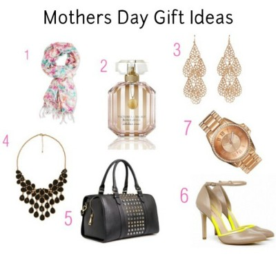 #MothersDay is right around the corner! I'm sharing some gift ideas on #MyStyledExpressions. Stop by and leave a comment, letting me know your thoughts. #forever21 scarf and necklace #solesociety colorblock heel #juicycouture gold watch #mango studded bag #victoriassecret perfume {www.mystyledexpressions.blogspot.com}