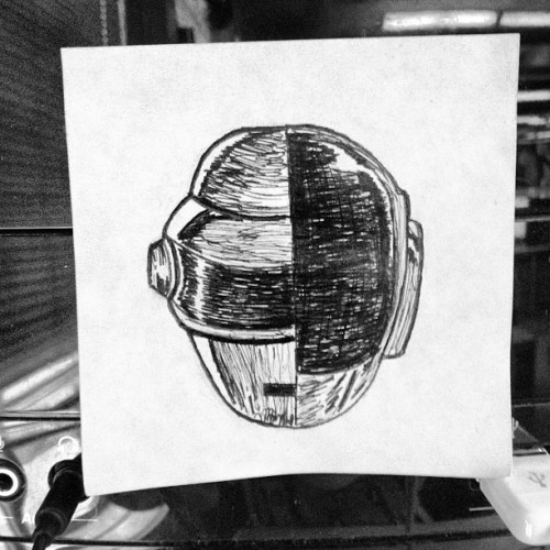 Daft-it note. Listening to RAM at work.