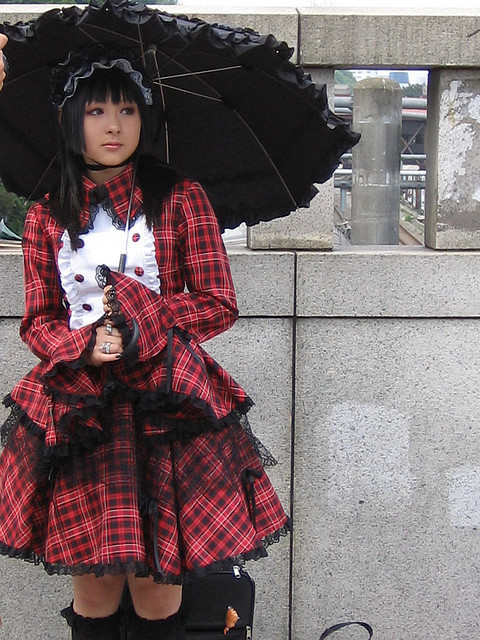 goth loli cos player by jazzlah on Flickr.