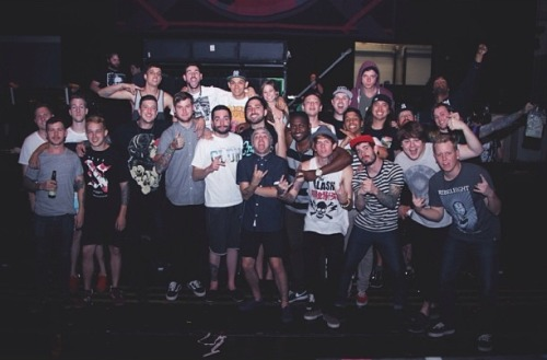 bandseverywhere:  Of Mice & Men, A Day to Remember and Issues