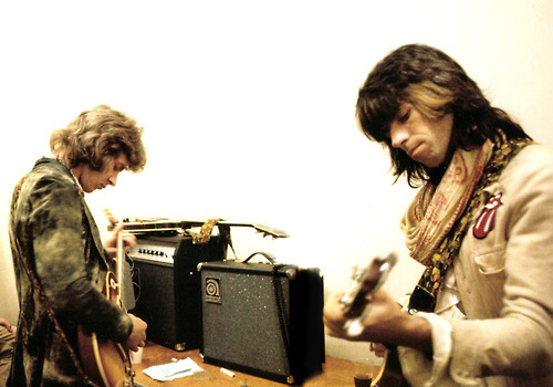 MICK TAYLOR et KEITH RICHARDS