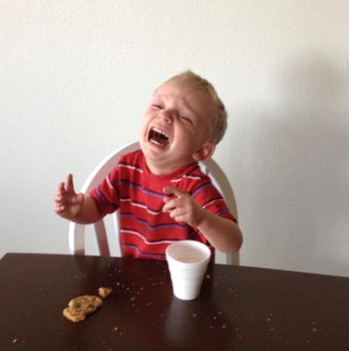"reasonsmysoniscrying:  ""A fly landed near him.""  Submitted By:  Carey B.Location:  California, United States"